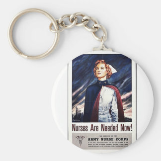 Nurse Are Needed Now Key Chains