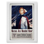 Nurse Are Needed Now! Posters