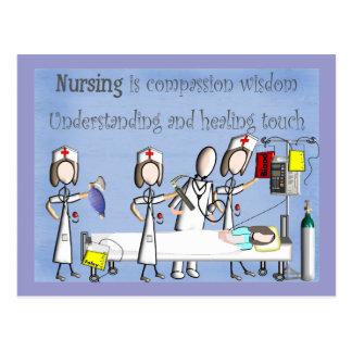 Nurse Art Gifts Postcard