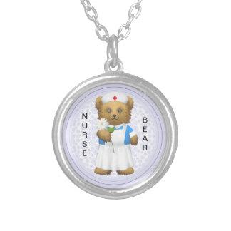 Nurse Bear - Pendant - Personalize  - Teddy