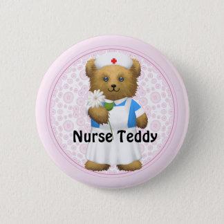 Nurse Bear - Teddy Bear 6 Cm Round Badge