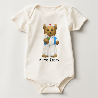 Nurse Bear - Teddy Bear Baby Bodysuit