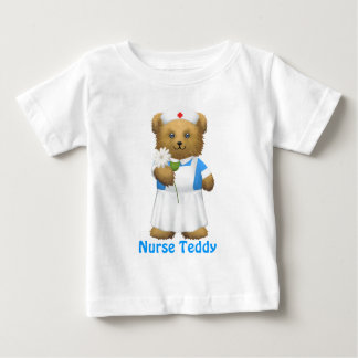 Nurse Bear - Teddy Bear Baby T-Shirt