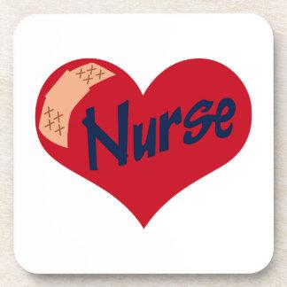 Nurse Beverage Coaster