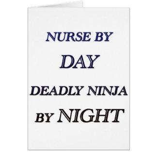 NURSE BY DAY CARD