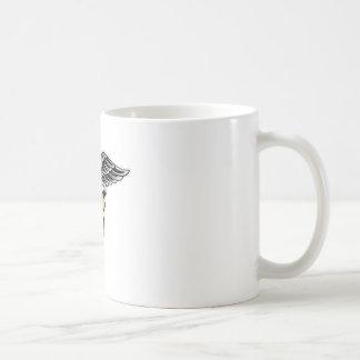 Nurse Caduceus Basic White Mug
