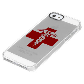 Nurse Caduceus Uncommon Clearly™ Deflector iPhone 5 Case