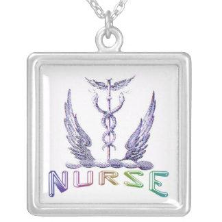 Nurse Caduceus Pendant