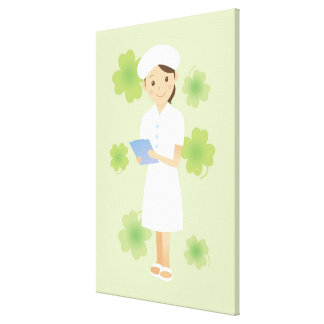 Nurse Gallery Wrapped Canvas