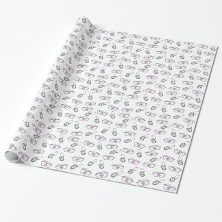 Nurse Cap and Stethoscope Wrapping Paper