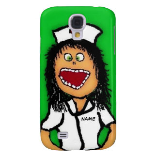 Nurse Cartoon Galaxy S4 Case