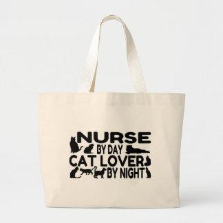 Nurse Cat Lover Jumbo Tote Bag
