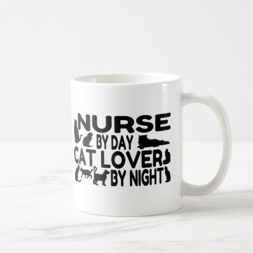 Nurse Cat Lover Mugs