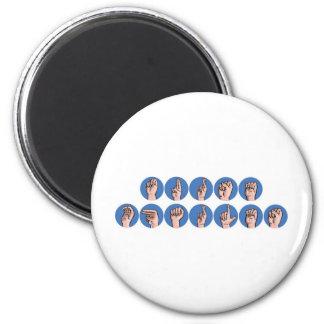 Nurse Charles 6 Cm Round Magnet