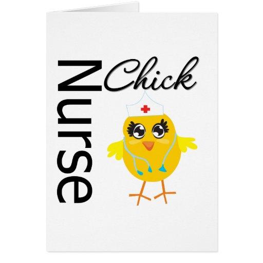 Nurse Chick Cards