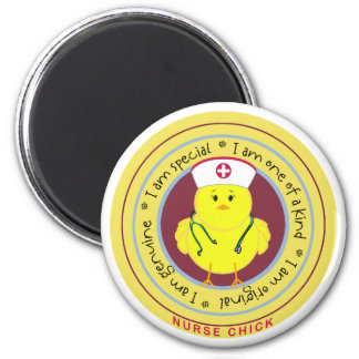 Nurse Chick Refrigerator Magnet