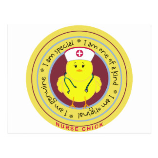 Nurse Chick Postcard