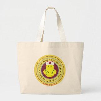 Nurse Chick Tote Bags