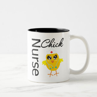Nurse Chick Two-Tone Mug