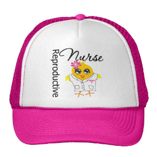 Nurse Chick v2 Reproductive Nurse Mesh Hat