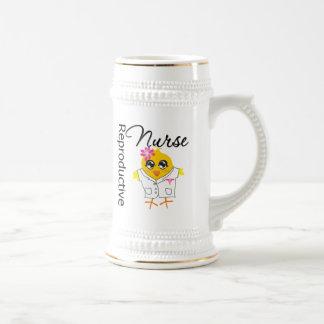 Nurse Chick v2 Reproductive Nurse Mugs
