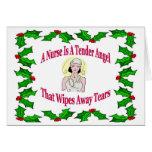 Nurse Christmas Card