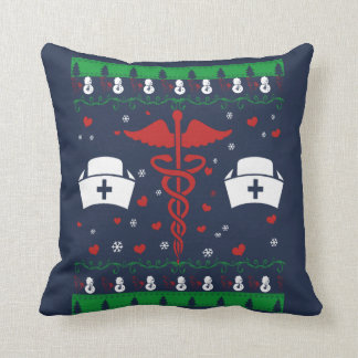 NURSE CHRISTMAS CUSHION