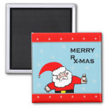 nurse Christmas gifts Square Magnet
