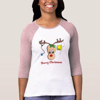 Nurse Christmas Reindeer Gifts T-Shirt