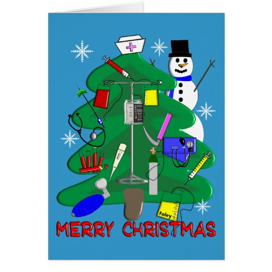 Nurse Christmas T-Shirts and Gifts Card