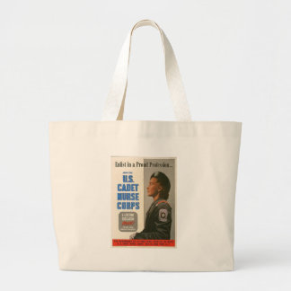 Nurse Corps World War 2 Jumbo Tote Bag