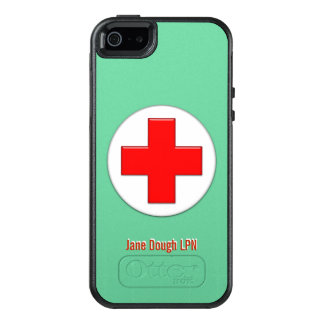 Nurse Cross Name Template OtterBox iPhone 5/5s/SE Case