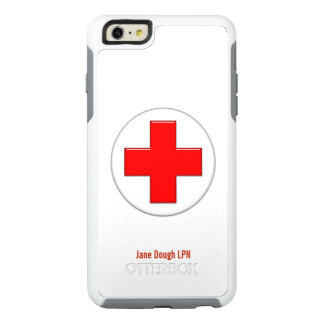 Nurse Cross Name Template OtterBox iPhone 6/6s Plus Case
