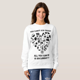 Nurse Cute Heart Nurse Funny Sweatshirt