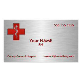 Nurse Deluxe Pack Of Standard Business Cards