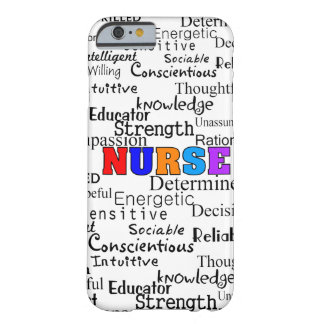 Nurse Describing Words Gifts Barely There iPhone 6 Case