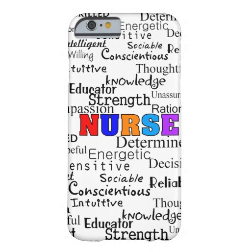 Nurse Describing Words Gifts iPhone 6 Case
