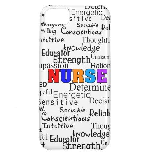 Nurse Describing Words Gifts iPhone 5C Case