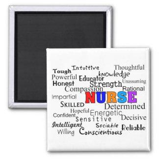 Nurse Describing Words Gifts Magnet