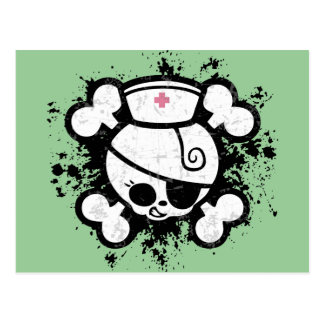 Nurse Dolly Splat Postcard