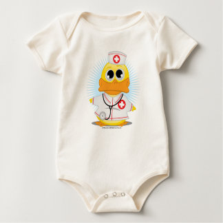 Nurse Duck Baby Bodysuit