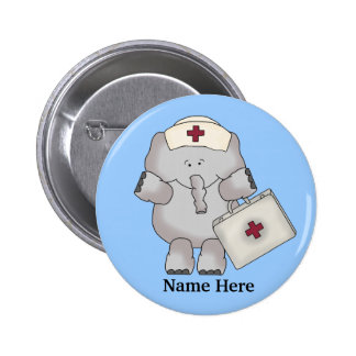Nurse Elephant button