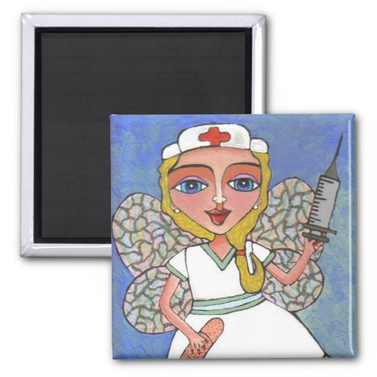 Nurse Fairy - magnet
