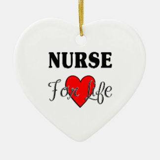 Nurse For Life Christmas Ornament
