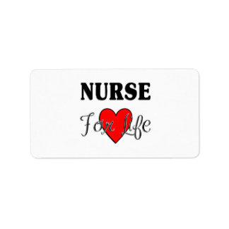 Nurse For Life Address Label