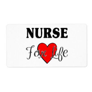Nurse For Life Shipping Label