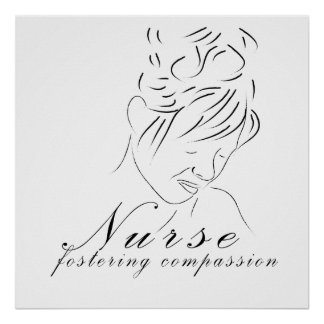 "Nurse ""Fostering Compassion"" Print"