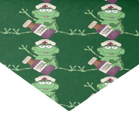 Nurse Frog Gift Tissue Paper