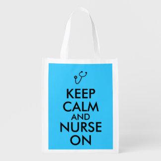 Nurse Gift Stethoscope Keep Calm and Nurse On