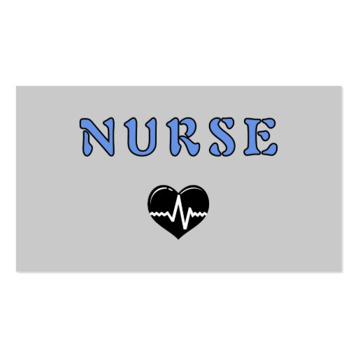 Create your own registered nurse business cards page7 for Nurse business cards
